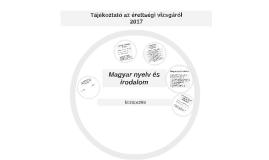 Magyar nyelv és irodalom érettségi 2017
