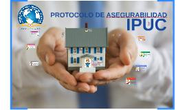 Copy of PROTOCOLO DE ASEGURABILIDAD