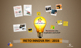 RETO INNOVA RH - 2015
