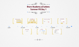 BAL Summer PD Day 1