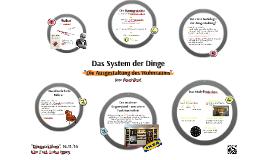 Das System der Dinge