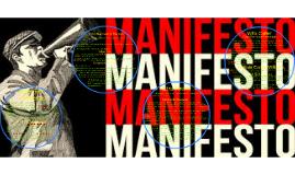 Modernist Manifestos