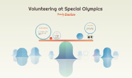 Volunteering at Special Olympics