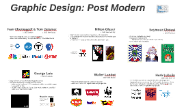 Graphic Design: Post Modern