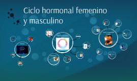 Copy of Ciclo hormonal femenino y masculino