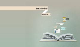 PHILOSOPHY 11
