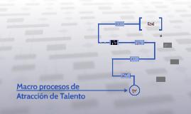 Macro procesos de Atracción de Talento