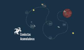 Conductas Acumuladoras