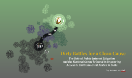 Dirty Battles for a Clean Cause