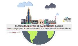 Fortaleza: PLANO MUNICIPAL DE SANEAMENTO BÁSICO