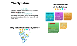 The Syllabus: