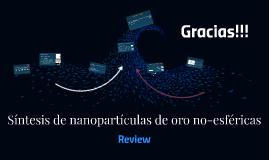 Síntesis de nanopartículas no-esféricas