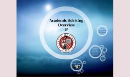 Academic Advising Overview