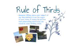 Copy of Rule of Thirds
