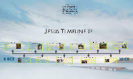 Jesus Timeline Assignment
