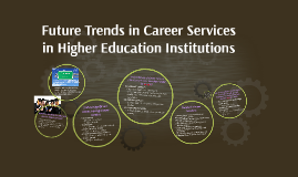 Copy of Future Trends in Career Services in Higher Education Institu