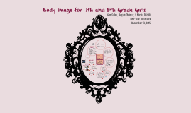 Body Image for 7th and 8th grade Girls