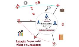 Vícios de linguagem - Redação Empresarial