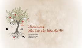 Hàng Rong - Nét đẹp văn hóa riêng biệt của Việt Nam
