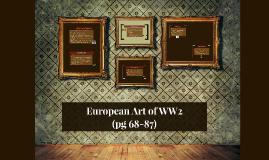 European Art of WW2