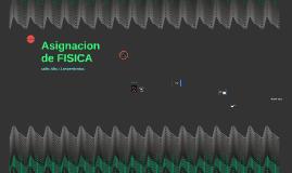 Asignacion de FISICA