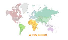 My Travel Footprints