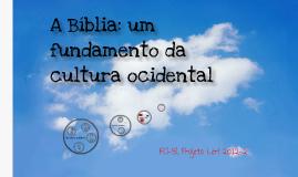 A Bíblia e a cultura ocidental