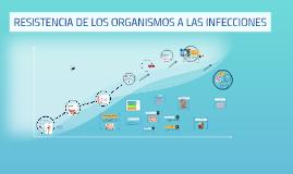 RESISTENCIA DE LOS ORGANISMOS A LAS INFECCIONES