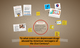 To what extent are depressant drugs abused by American teena