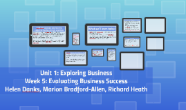 Unit 1: Week 5 of Exploring Business