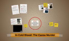 The Carew  Murder