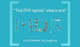post 2015, what next?