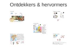 2h Ontdekkers & hervormers
