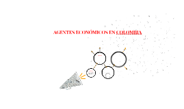 AGENTES ECONÓMICOS EN COLOMBIA