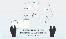 ESTRUCTURA DE LOS INGRESOS CONSTANTES DE LA NACION