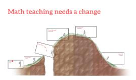 Math teaching needs a change