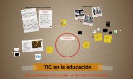 Copia de TIC en la educación