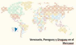 Venezuela, Paraguay y Uruguay en el Mercosur