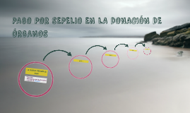 PAGO POR SEPELIO EN LA DONACIÓN DE ÓRGANOS