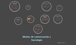 Medios de comunicación y Sociología
