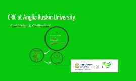 CRIC at Anglia Ruskin University