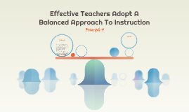 Effective Teachers Adopt A Balanced Approach To Instruction