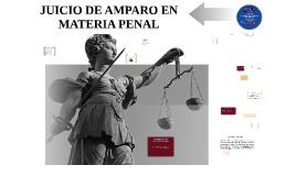 JUICIO DE AMPARO PENAL