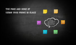 The Pros and cons of using your phone in class