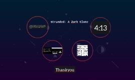 Stranded: A Zork Clone