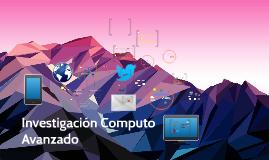 Investigacion computo Avanzado