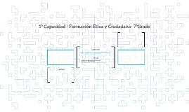 1º Capacidad - Formación Ética y Ciudadana- 7ºGrado