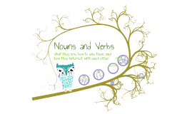 Nouns and Verbs