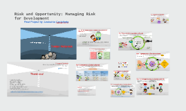 Copy of Risk and Opportunity: Managing Risk for Development