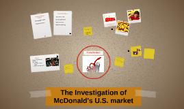 McDonald's U.S. Market
